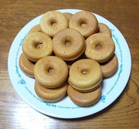 ミネラルたっぷり☆全粒粉入りドーナツ