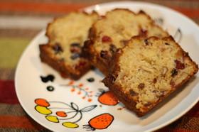 自然素材たっぷりラム酒香るパウンドケーキ
