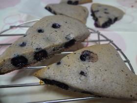 ブルーベリーのしっとりクッキー