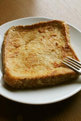 朝ランチ!黒砂糖しょうがフレンチトースト