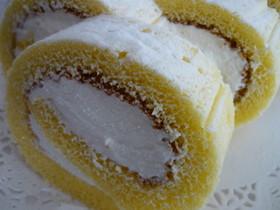ふわふわ☆プレーンロールケーキ