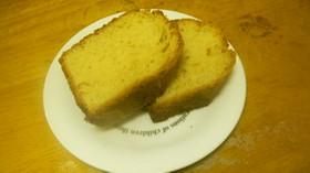 メープル風味のパウンドケーキ