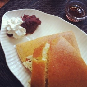 あんバターパンケーキ