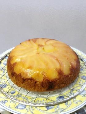炊飯器で簡単♬タルトタタン風りんごケーキ