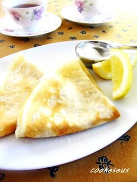 ブリティッシュパンケーキ(クレープ)