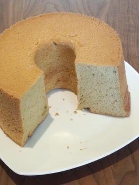 黒糖きなこシフォンケーキ