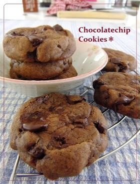 アメリカの✽簡単チョコチップクッキー