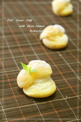 チーズカスタードシュークリーム♥♥