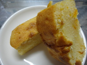 ほろほろ♪オレンジパウンドケーキ