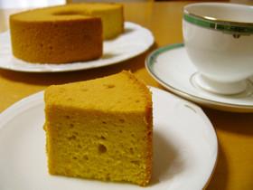 米粉のカボチャシフォンケーキ