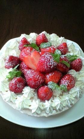 簡単☆フルーチェdeレアチーズケーキ