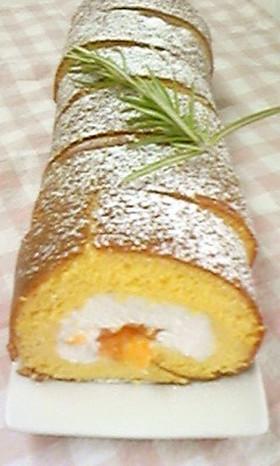 爽やかグレフルロールケーキ