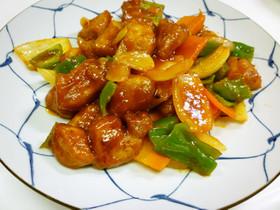 酢豚~ケチャップ甘酢風~