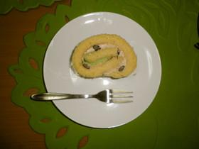 米粉豆乳ロールケーキ