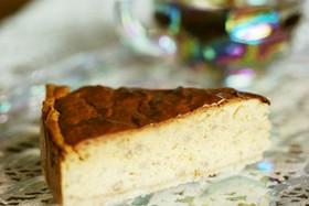 濃厚ホロ苦♪キャラメルバナナチーズケーキ