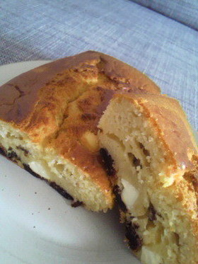 HMでクリチとプルーンのパウンドケーキ
