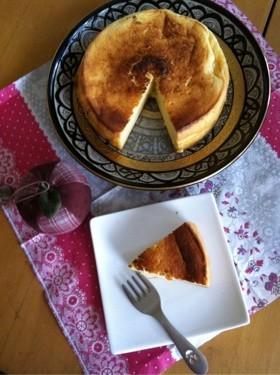 オーブントースターでベイクドチーズケーキ