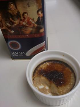 アールグレイ紅茶のクレームブリュレ