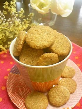 全粒粉100%ザクザク健康クッキー