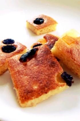 トースターで作る*簡単パンケーキ
