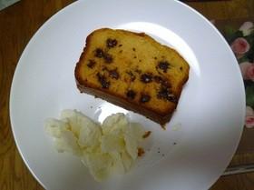 カリフォルニアレーズンのパウンドケーキ