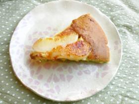 ☆簡単☆桃のパンケーキ