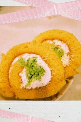 枝豆ロールケーキ