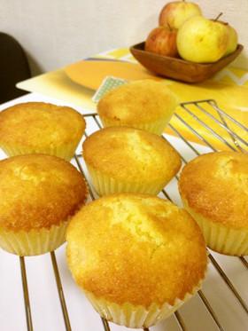 林檎のカップケーキ