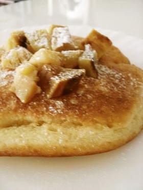朝ごはん*焼き芋ホットケーキ