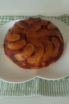 りんごのタルトタタン風★炊飯器ケーキ★