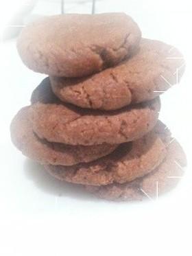 サラダ油でココアクッキー☆