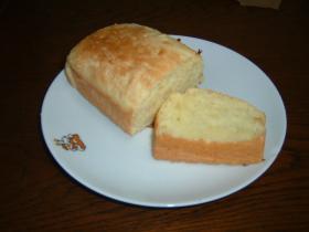 ホットケーキミックスで、食パン風クイックブレッド
