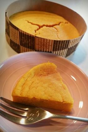豆腐かぼちゃ人参のスイートポテト風ケーキ
