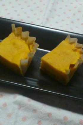 カボチャとマスカルポーネのカップケーキ
