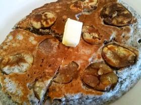 栗の入ったホットケーキ