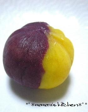 薩摩芋と紫芋の茶巾♡簡単スイートポテト