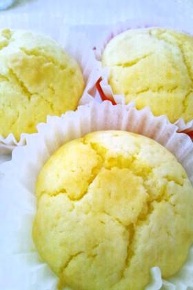 HMでカップケーキ①バター量の実験結果