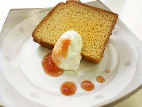 トマトシフォンケーキ