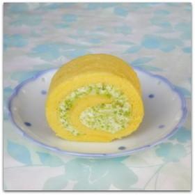 ずんだクリームの☆ロールケーキ