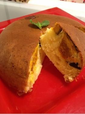 炊飯器ケーキかぼちゃマフィン