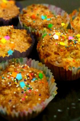 秋になれば...かぼちゃのカップケーキ☆
