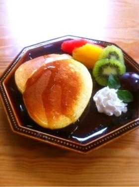 天然酵母 ふんわりパンケーキ
