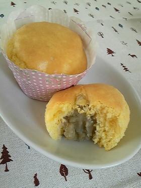HMで☆マロンカップケーキ
