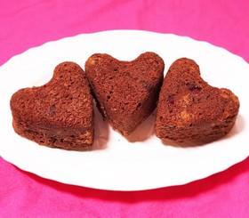 チョコレートケーキ クランベリーも一緒♪