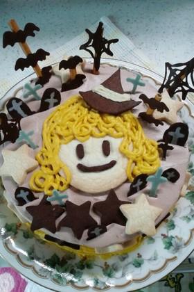 ハロウィン 魔女っこのケーキ☆
