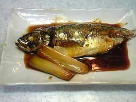 アジの煮付け☆煮魚の作り方