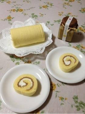 ロールケーキ with コンフィチュール