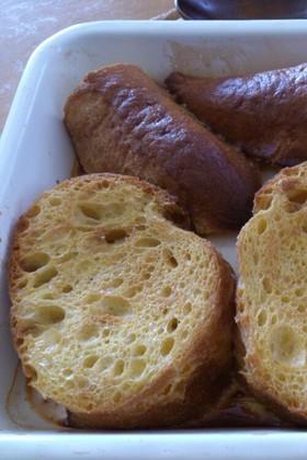 バター不使用☆オーブンでフレンチトースト