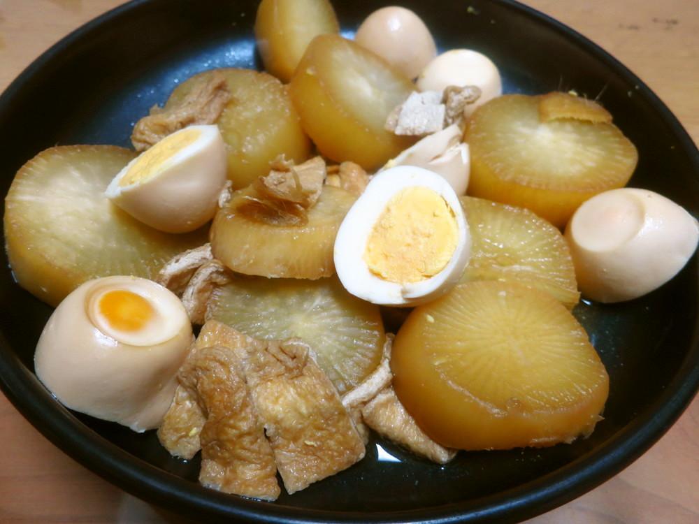 ポリ袋で大根の煮物