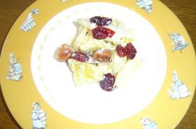 スイートポテトとクランベリーのサラダ